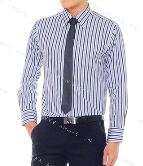 Đồng phục áo sơ mi nam công sở 1SMA09