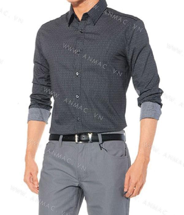 Đồng phục áo sơ mi nam công sở 1SMA11