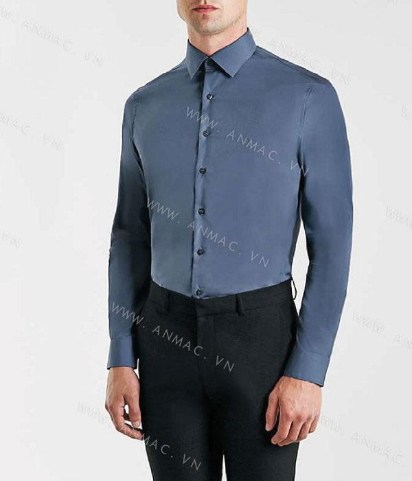 Đồng phục áo sơ mi nam công sở 1SMA17