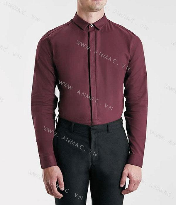 Đồng phục áo sơ mi nam công sở 1SMA15