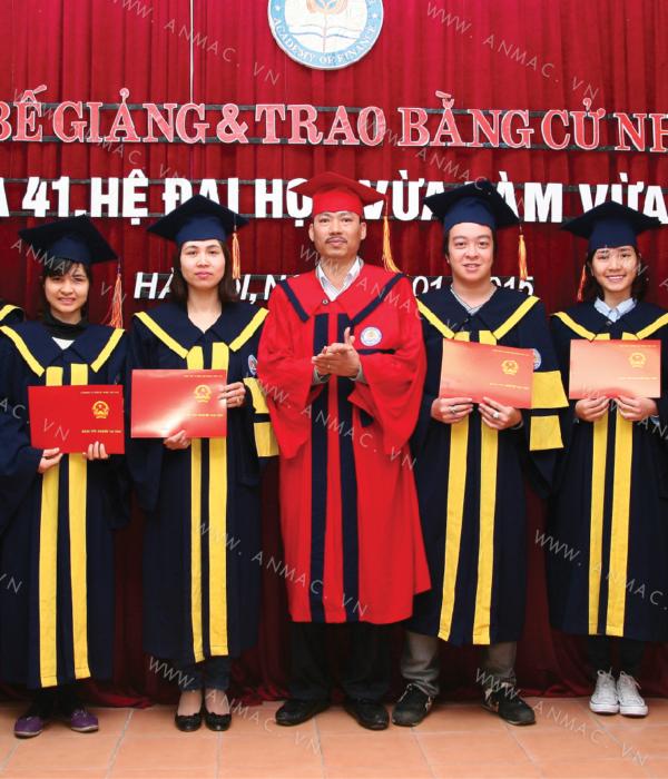 Đồng phục áo tốt nghiệp học sinh sinh viên 1ATN02