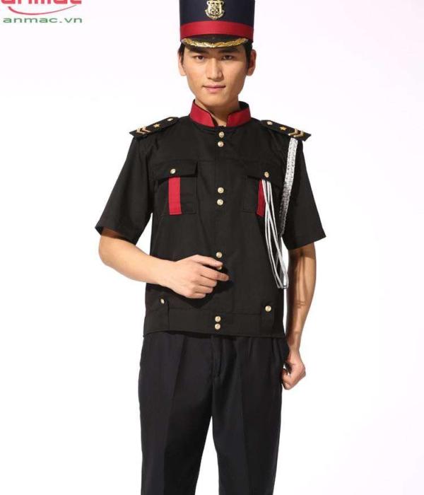 Đồng phục bell khách sạn 03