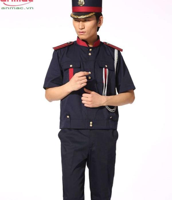 Đồng phục bell khách sạn 02