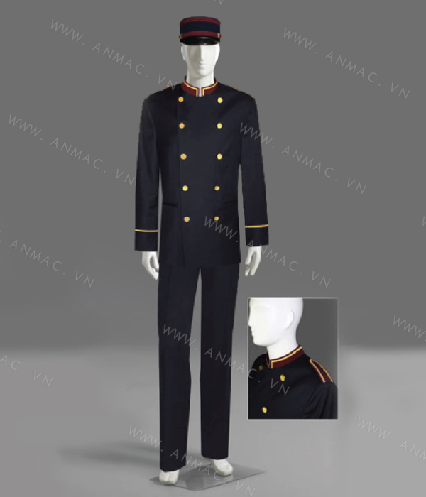 Đồng phục bell khách sạn 19