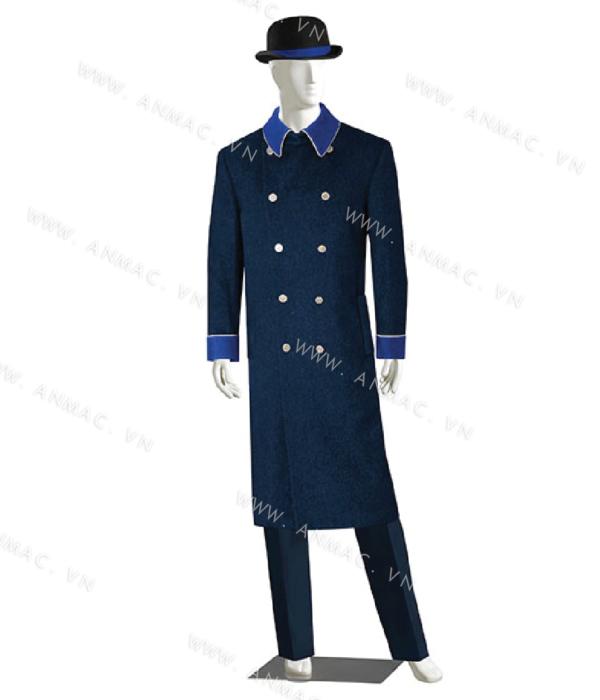 Đồng phục bell khách sạn 14