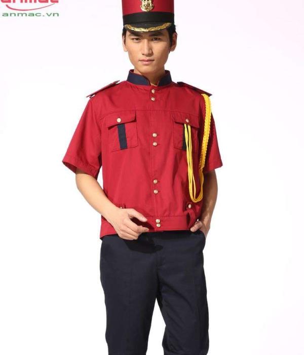 Đồng phục bell khách sạn 01