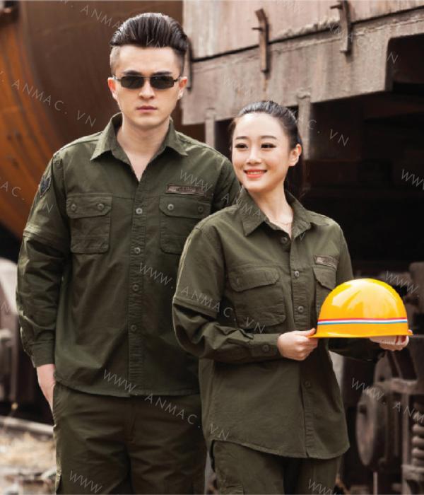 Đồng phục công nhân 1BHCN07