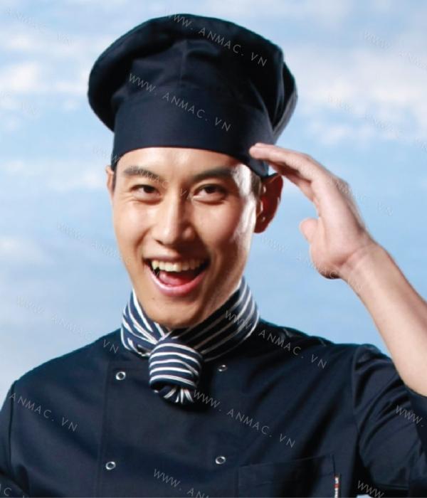 Đồng phục mũ đầu bếp đẹp 1MDB05