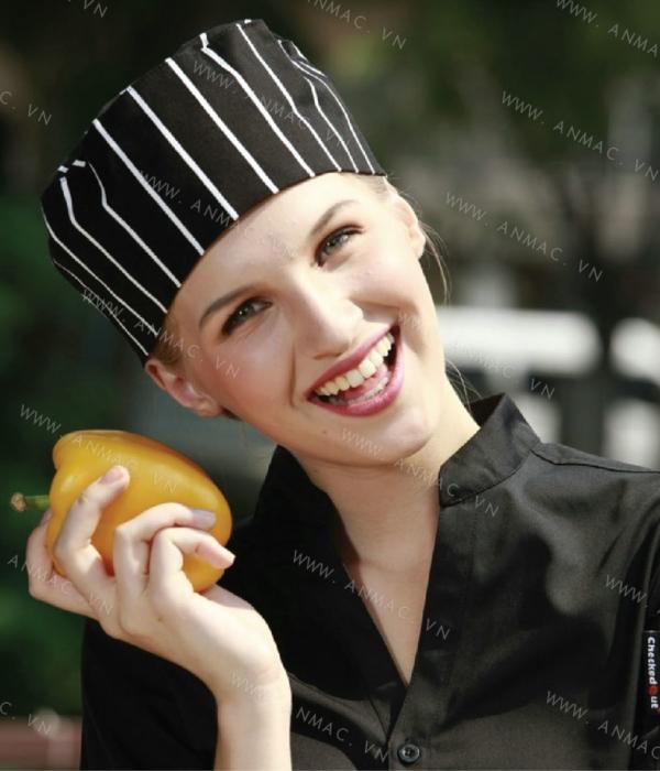Đồng phục mũ đầu bếp đẹp 1MDB11