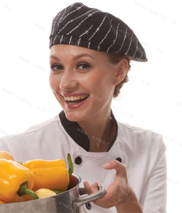 Đồng phục mũ đầu bếp đẹp 1MDB18