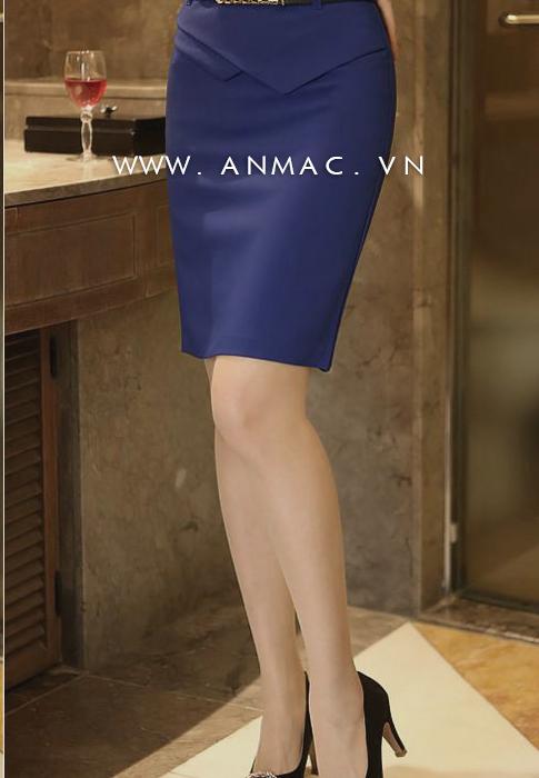 Đồng phục chân váy công sở 1VZ19