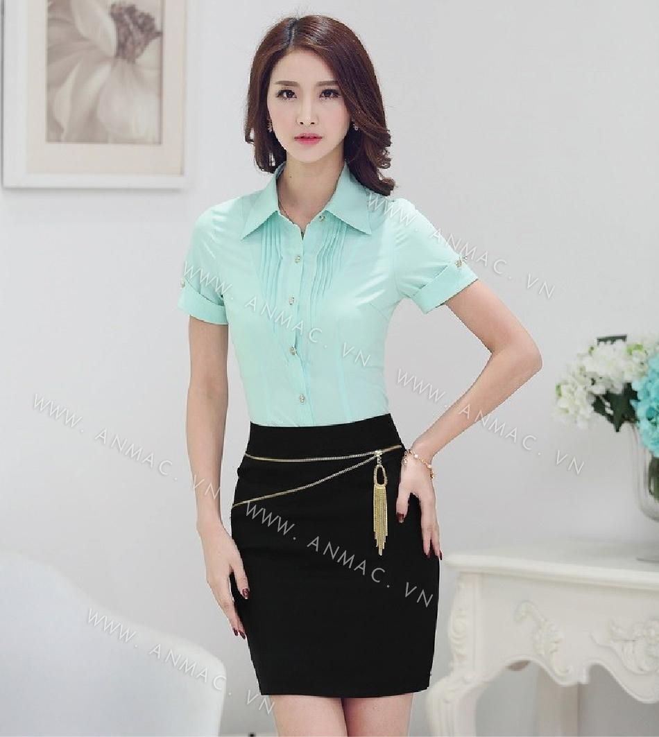 Đồng phục chân váy công sở 1VZ01