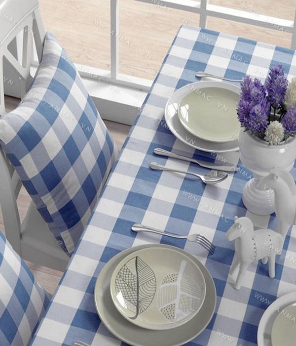 Khăn trải bàn – áo bàn – áo ghế 1KB01