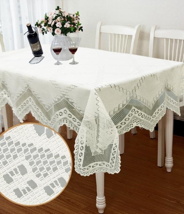 Khăn trải bàn – áo bàn – áo ghế 1KB07