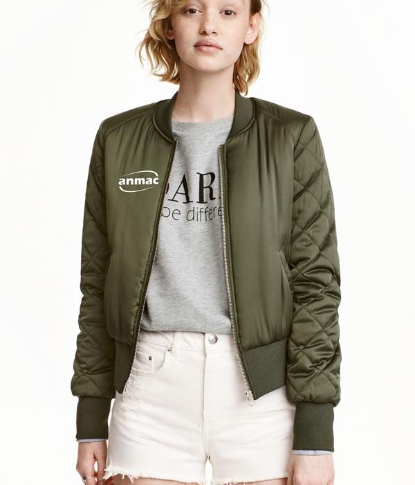 Áo bom jacket nữ 01