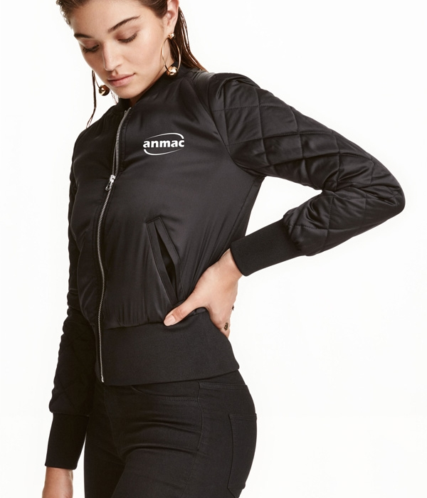 Áo bom jacket nữ 02