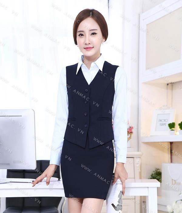 Đồng phục áo Gile nữ công sở 50