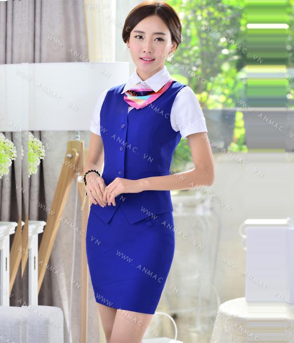 Đồng phục áo Gile nữ công sở 58