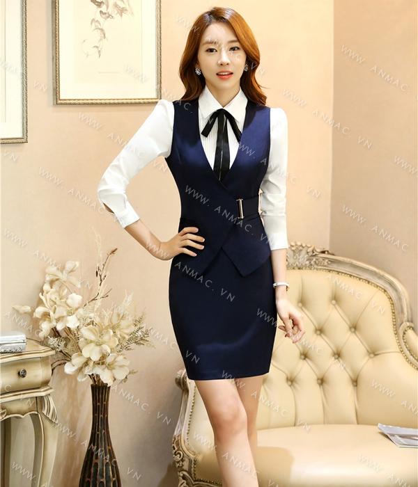 Đồng phục áo Gile nữ công sở 59
