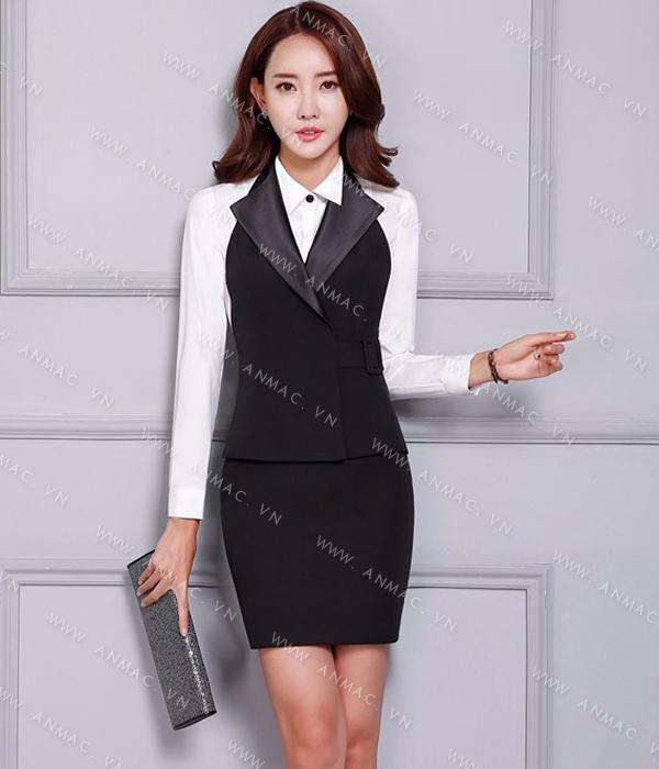 Đồng phục áo Gile nữ công sở 61