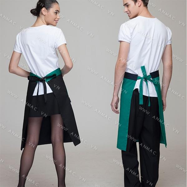 Đồng phục nhân viên áo phông – tạp dề 1APTD49