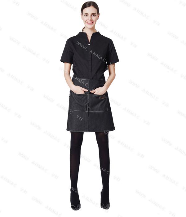 Đồng phục nhân viên áo phông – tạp dề 1APTD50
