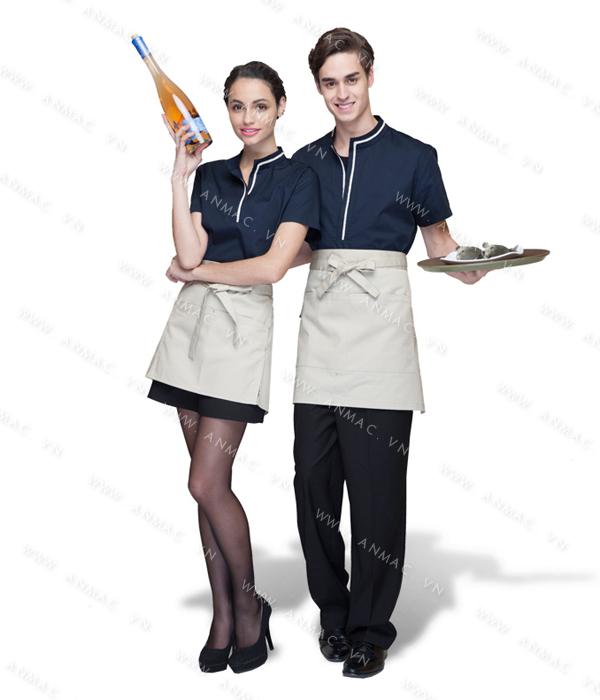 Đồng phục nhân viên áo phông – tạp dề 1APTD54