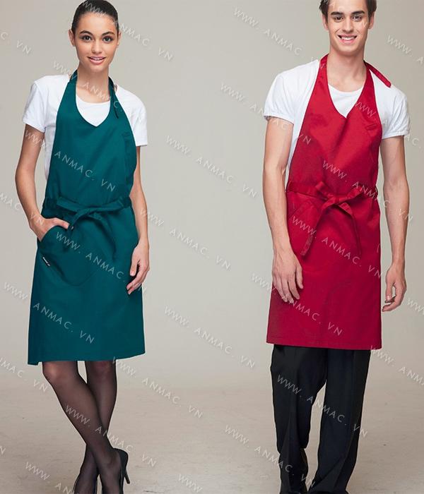 Đồng phục nhân viên áo phông – tạp dề 1APTD59