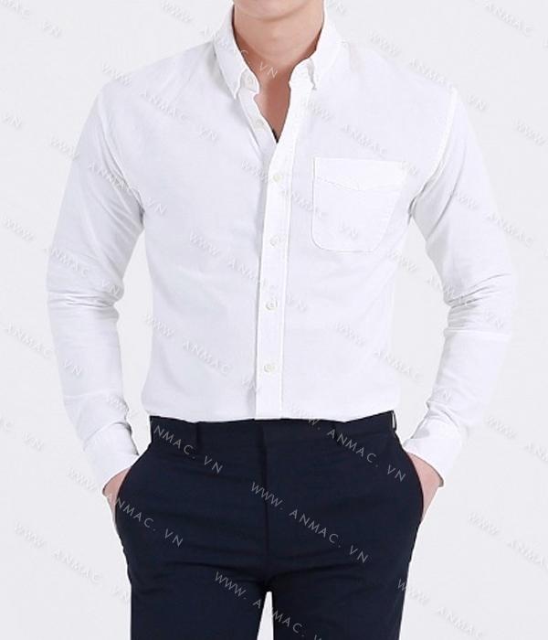 Đồng phục áo sơ mi nam công sở 51