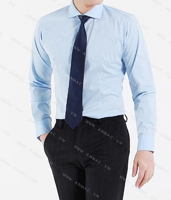 Đồng phục áo sơ mi nam công sở 56