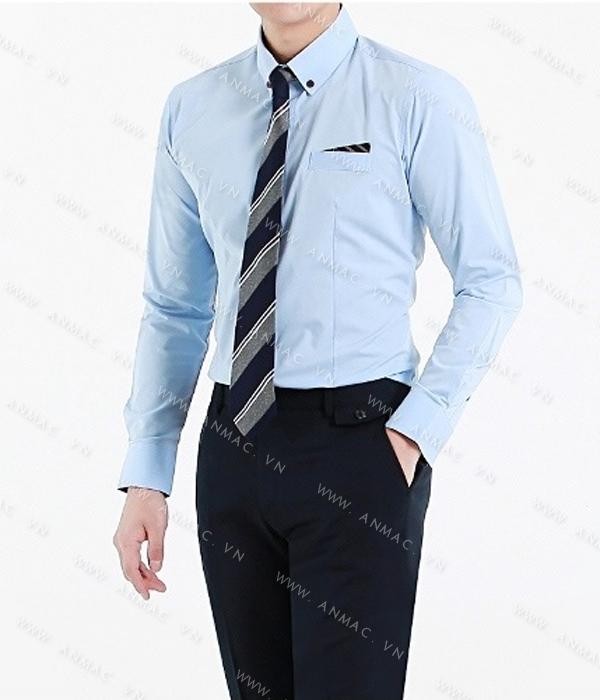 Đồng phục áo sơ mi nam công sở 58