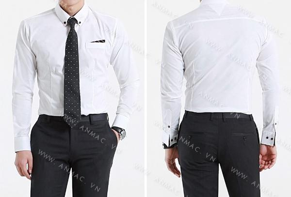 Đồng phục áo sơ mi nam công sở 1SMA59