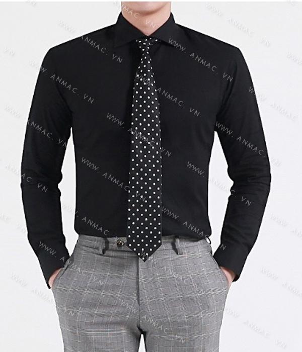 Đồng phục áo sơ mi nam công sở 61