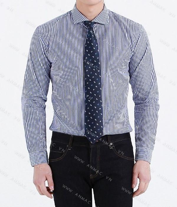 Đồng phục áo sơ mi nam công sở 1SMA73