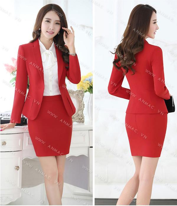 Đồng phục áo vest nữ công sở 1VNU53
