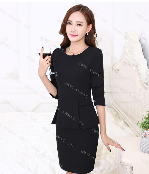 Đồng phục áo vest nữ công sở 1VNU60