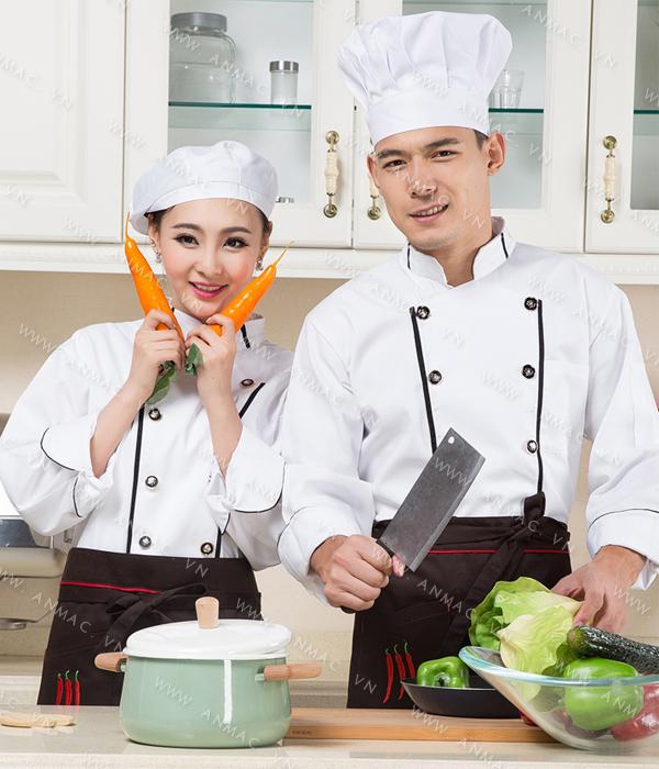 Đồng phục bếp nhà hàng – khách sạn 1ADB51