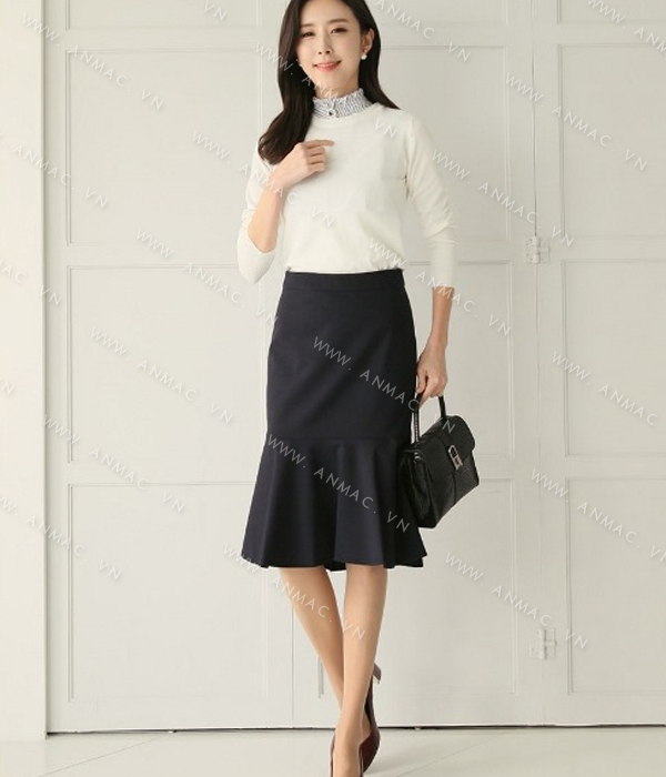 Đồng phục chân váy công sở 1VZ50
