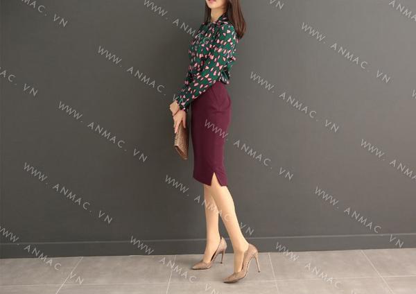 Đồng phục chân váy công sở 1VZ51