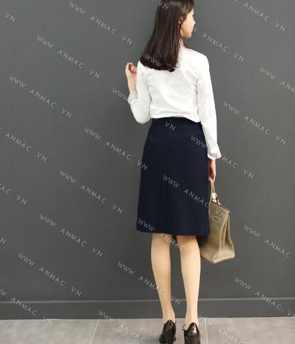 Đồng phục chân váy công sở 1VZ54