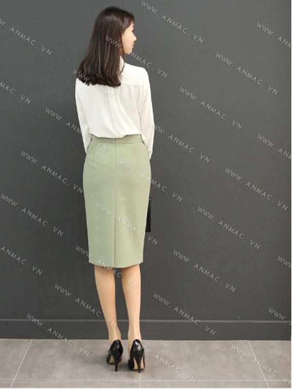 Đồng phục chân váy công sở 1VZ55