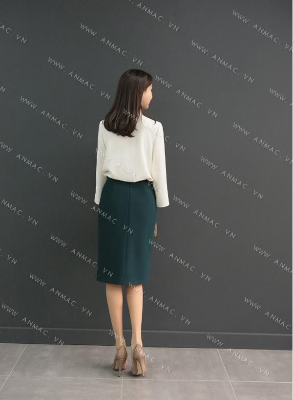 Đồng phục chân váy công sở 1VZ70
